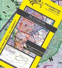 VFR Luftfahrtkarte Slowakei / Slovakia 2018