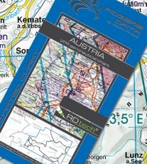 VFR Luftfahrtkarte Österreich 2018