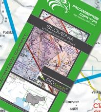 VFR Luftfahrtkarte Slowenien / Slovenia 2018