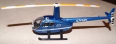 R44 Raven II Blau Matchbox von Mattel