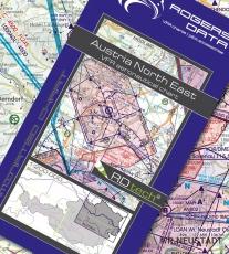VFR Luftfahrtkarte Niederösterreich & Wien - Lower Austria & Vienna 2019 (laminiert)