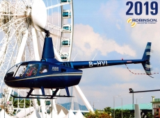 Robinson Helicopters Kalender 2019
