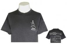 R44 T-Shirt Dark Gray Schematic