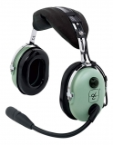 Headset D.C. H10-13.4 General Aviation, PJ-Stecker, gerades Kabel (für Fläche)