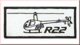 Robinson R22 Aufnäher