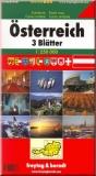 Autokarte Österreich