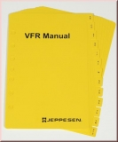 VFR Manual Tab Set Alphabetical