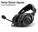 BOSE A20 Aviation Headset, Fischer-Stecker (Agusta A109E), Low-Impedance, gerades Kabel