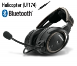 BOSE A20 Aviation Headset für Robinson, U/174, gewendeltes Kabel, Bluetooth