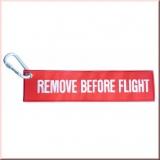 Schlüsselanhänger XXL Remove before Flight