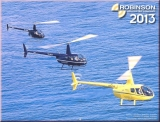 Robinson Helicopters Kalender 2013