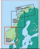 ICAO Karte Norwegen - Süd