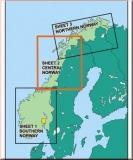 ICAO Karte Norwegen - Zentral