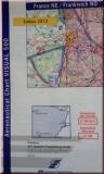 ICAO Karte Frankreich - Nordost 2015