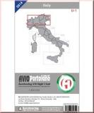 ICAO Karte Italien LI-1 Aerotouring VFR 2016