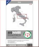 ICAO Karte Italien LI-4 Aerotouring VFR 2016