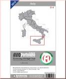ICAO Karte Italien LI-6 Aerotouring VFR 2016
