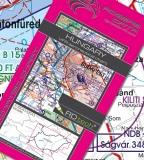 VFR Luftfahrtkarte Ungarn / Hungary 2018