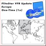 Jeppesen FliteStar VFR Update - Europa, einmalig