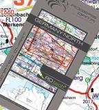 VFR Luftfahrtkarte Deutschland Nord - Germany North 2017