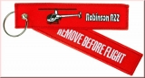 Schlüsselanhänger Remove Before Flight Robinson R22