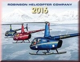 Robinson Helicopters Kalender 2016