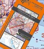 VFR Luftfahrtkarte Kroatien & Bosnien Herzegowina 2017