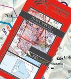 VFR Luftfahrtkarte Italien West / Italy West 2017