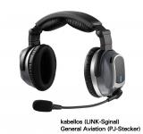 Lightspeed Zulu Tango ANR Headset - kabellos - PJ-Stecker