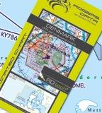 VFR Luftfahrtkarte Dänemark / Denmark 2017