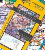 VFR Luftfahrtkarte Belgien & Luxemburg / Belgium & Luxembourg 2017