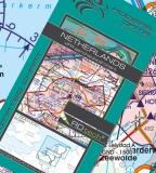 VFR Luftfahrtkarte Niederlande / Netherlands 2017