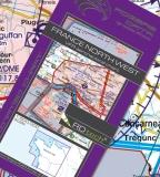 VFR Luftfahrtkarte Frankreich Nordwest / France Northwest 2017