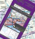 VFR Luftfahrtkarte Frankreich Südost / France Southeast 2017