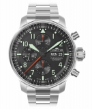 Fortis Flieger Professional Chronograph mit Metallband 705.21.11 M