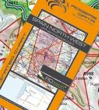 VFR Luftfahrtkarte Spanien Nord West / Spain North West 2018