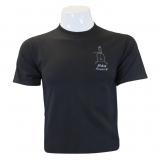 R44 T-Shirt Black Schematic
