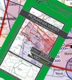 VFR Luftfahrtkarte Rumänien West / Romania West 2021 (laminiert)