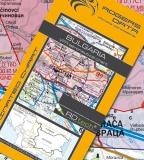 VFR Luftfahrtkarte Bulgarien / Bulgaria 2021 (laminiert)