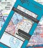 VFR Luftfahrtkarte Griechenland Süd West / Greece South West 2021 (laminiert)