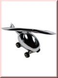 Briefbeschwerer Hubschrauber mit Stift