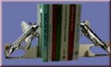 Buchstützen