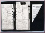 Jeppesen Three-Ring Trifold IFR Kniebrett